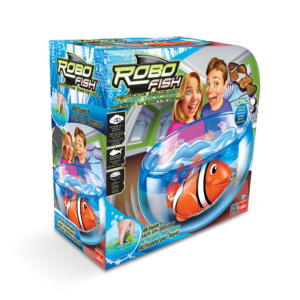 32520 RoboFish Playset Classic + Clownfish Orange L