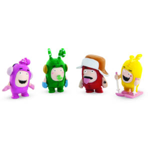 Oddbods Action Pack