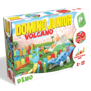 Domino Junior Dino Volcano