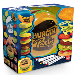 Burger Party, een partyspel van Goliath